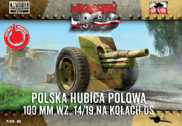 First to Fight 060 Polska haubica polowa 100mm wz.14/19