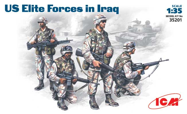 ICM 35201 Force Elite US IRAK