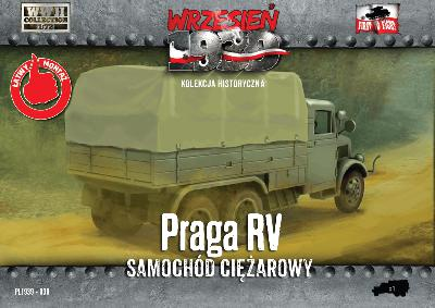 First to Fight 030 CAMION PRAGA RV - ARMEE POLONAISE 1939