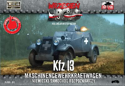 First to Fight 006 Kfz.13 MASCHINENGEWEHRKRAFTWAGEN - 1939-1940