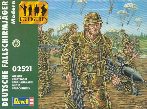 Revell 02521 German Paratroops moderne
