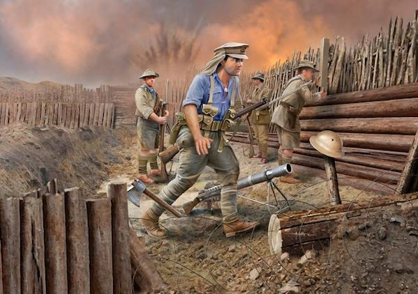 Revell 02618 ANZAC Infantry (1915) WWI
