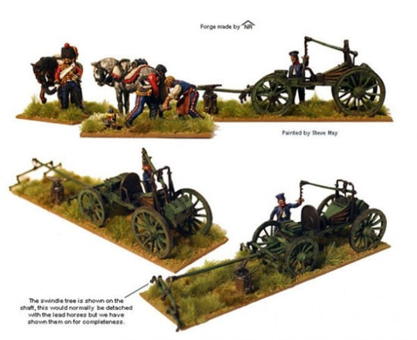 Perry Miniatures FN151 French Field Forge (métal)