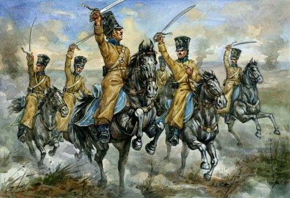 Strelets-R 034 Crimean War Russian Hussars