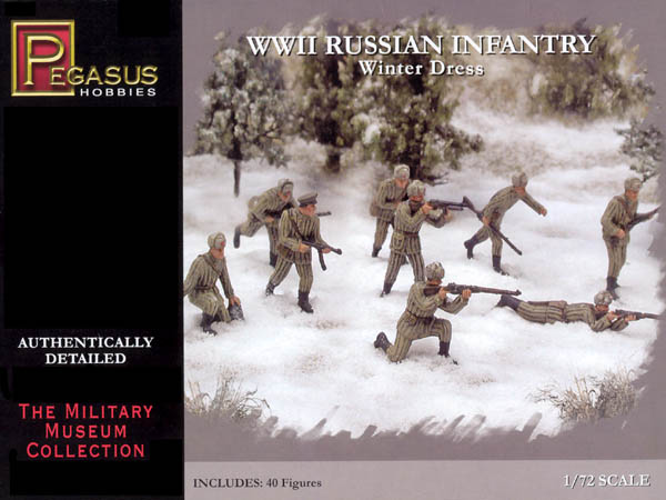PEGASUS 7269 INFANTERIE. RUSSE HIVER WWII