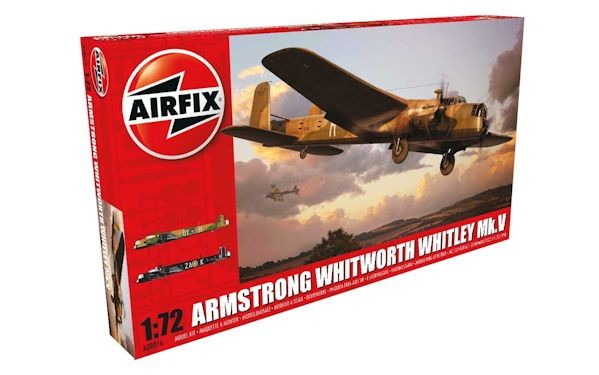 Airfix 08016 Armstrong Whitworth Whitley Mk.V
