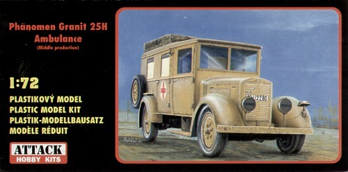 Attack 72818Phanomen Ambulance 25H Granit