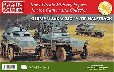 Plastic Soldier WW2V20022 SdKfz 250 alte halftrack with variant options