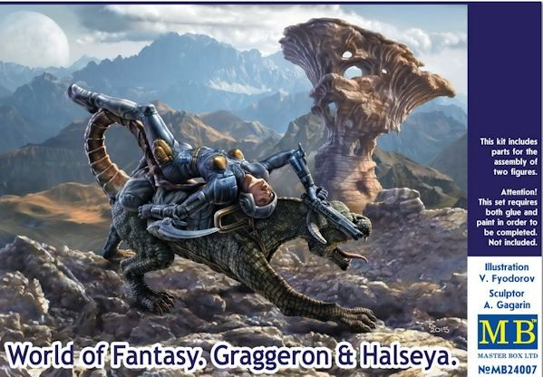 MASTER BOX 24007 World of fantasy: Graggeron & Halseya