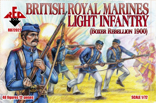 REDBOX 72022 Boxer Rebellion British Royal Marine Light Infant