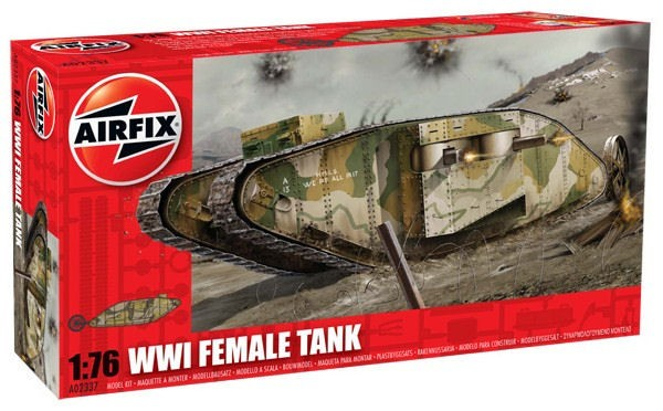"AIRFIX 02337 WWI ""FEMALE"" Tank"