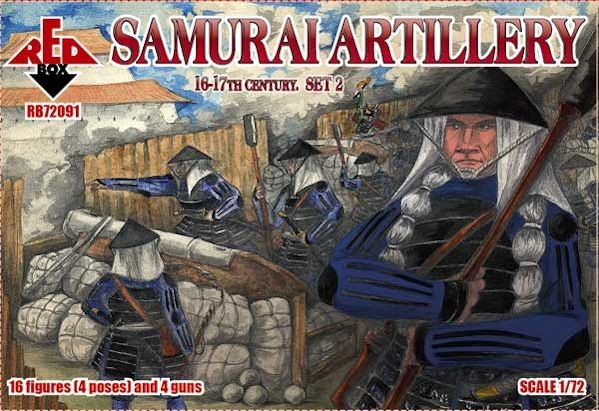 REDBOX 72091 Samurai Artillery 16-17th cent. Set 2