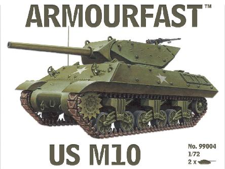 ARMOURFAST 99004 US M10 tank destroyer