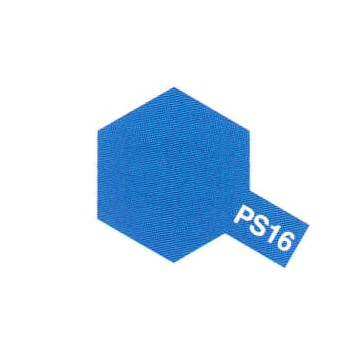 Tamiya PS16 bleu metallise (bombe 100ml)