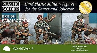Plastic Soldier WW2015015 15mm British Paratroopers 1944-45