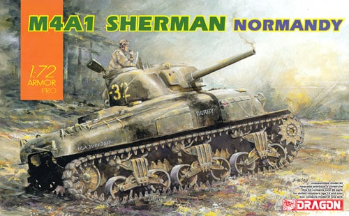 Dragon 7568 M4A1 Sherman en Normandie