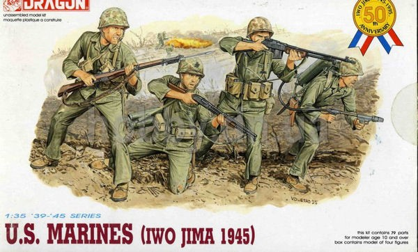 Dragon 6038 US Marines IWO JIMA