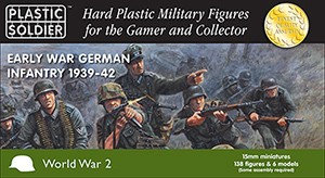 Plastic Soldier WW2015008 Early War German Infantry 1939-42
