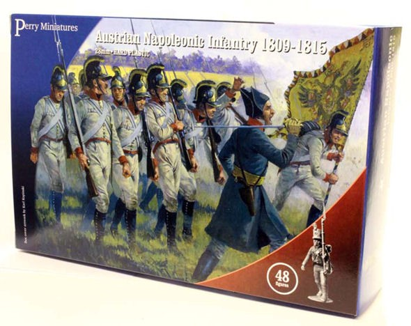 Perry Miniatures AN40 Austrian Napoleonic Infantry