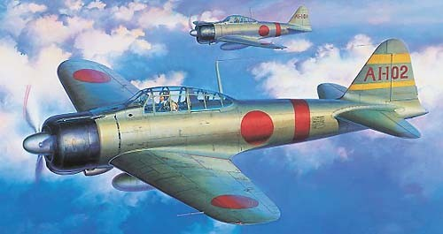 "Tamiya 60317 MITSUBISHI A6M2b ZERO Fighter Model 21 ""Zeke"""