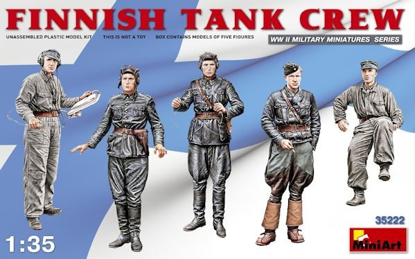 MINIART 35222 Finnish Tank Crew