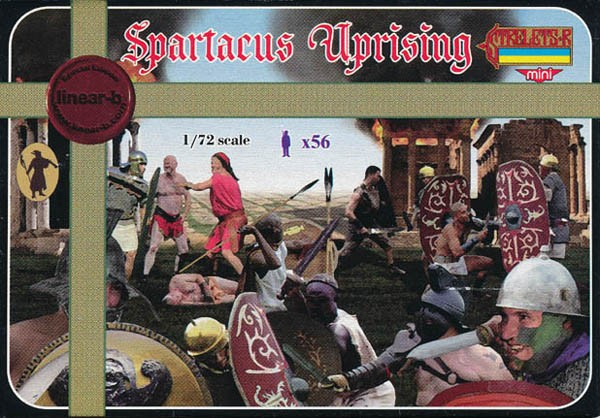 "Linear-B M073 SPARTACUS ""Uprising"" ensemble exclusif 1"
