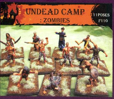 Caesar Miniatures CMF110 LE CAMP DES MORTS-VIVANTS