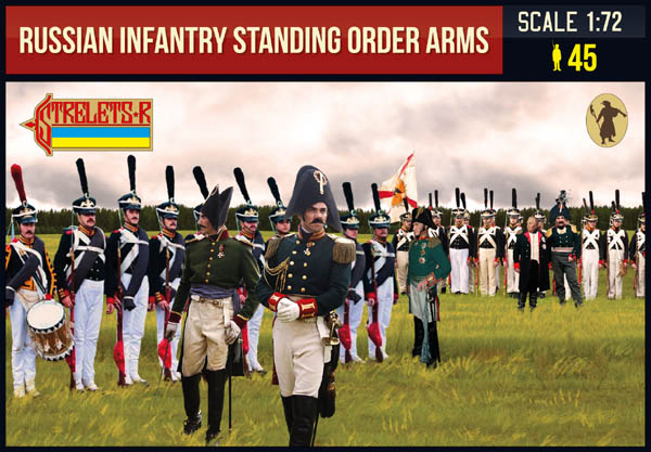 Strelets-R 217 Russian Infantry Standing Order Arms