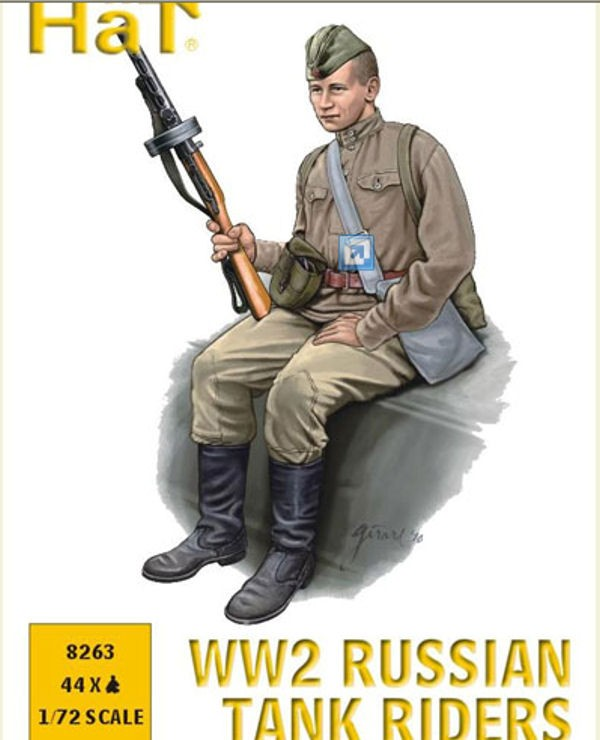 HAT 8263 Equipage Tank Russe WW2