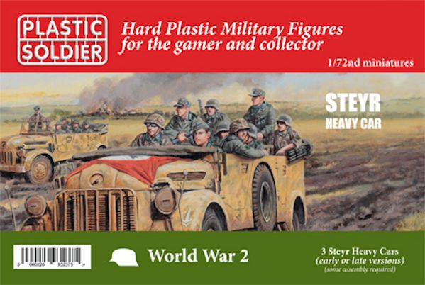 Plastic Soldier WW2V20031 German Steyr Heavy Car