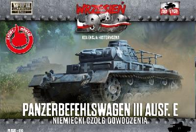 First to Fight 063 PANZERBEFEHLSWAGEN III Ausf E - 1939