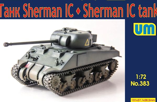 UM 383 Sherman IC Medium tank