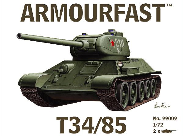 ARMOURFAST 99009 T34/85