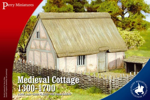 Perry Miniatures RPB3 Medieval Cottage 1300-1700