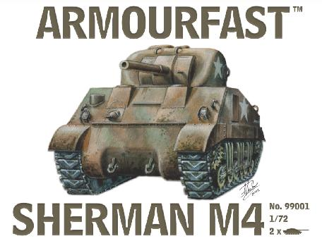 ARMOURFAST 99001 Sherman M4