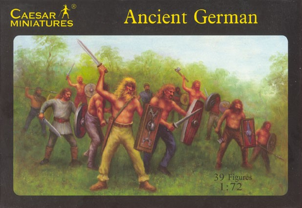 Caesar Miniatures CM040 GUERRIERS GERMAINS - 1er Siècle ap. JC