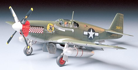 Tamiya 61042 North American P 51B