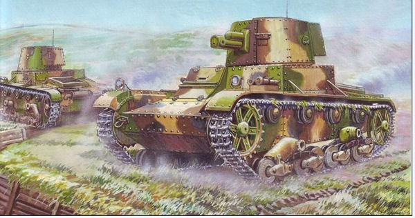 "UM 620 Vickers light tank model ""E"" (version F)"