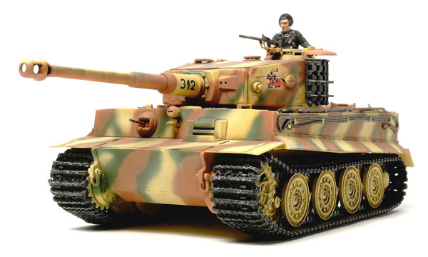 Tamiya 32575 Tiger I Production Tardive