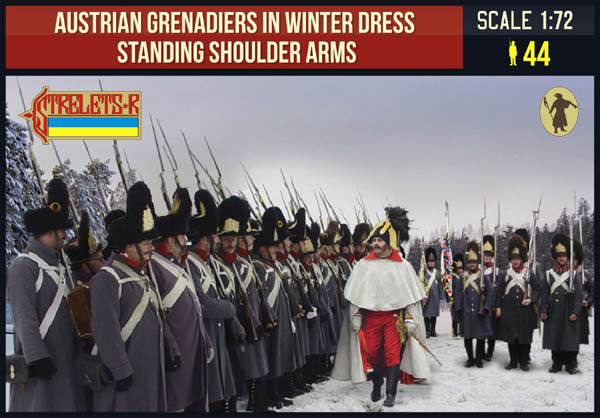 Strelets-R 206 Austrian Grenadiers Winter Shoulder Arms