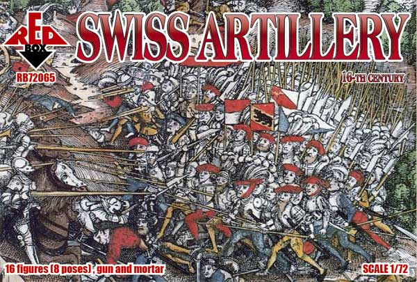 REDBOX 72065 Swiss Artillery 16th century