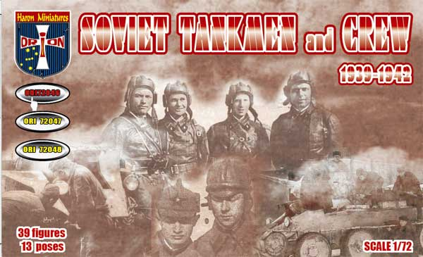 ORION 72046 Soviet tankmen and crew 1939-1942