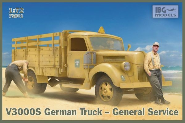IBG 72071 V3000S German Truck-General Service
