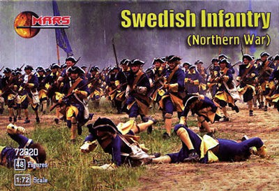 MARS 72020 Swedish Infantry, Northern War