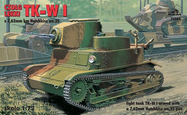 RPM 72504 Light Tank TKW I