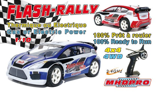 MHD Flash Rally EP RTR (prix coutant)1 voiture)