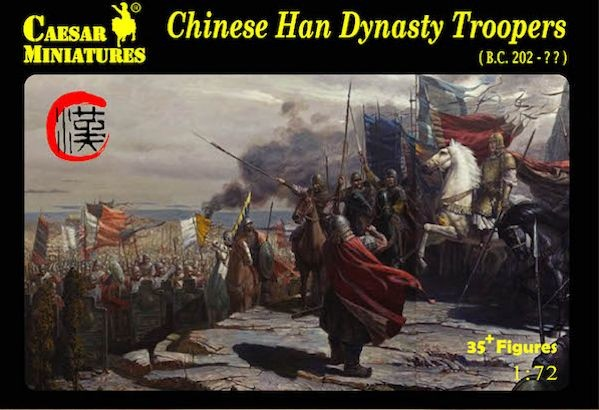 Caesar Miniatures CM043 Chinese Han Dynasty troopers