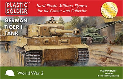 Plastic Soldier WW2V20032 TIGER 1