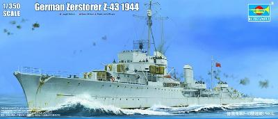 Trumpeter TR05323 Destroyer Allemand Zerstorer Z-43 1944