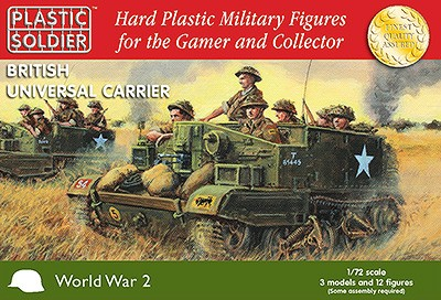 Plastic Soldier WW2V20007 British Universal Carrier (3 pieces)